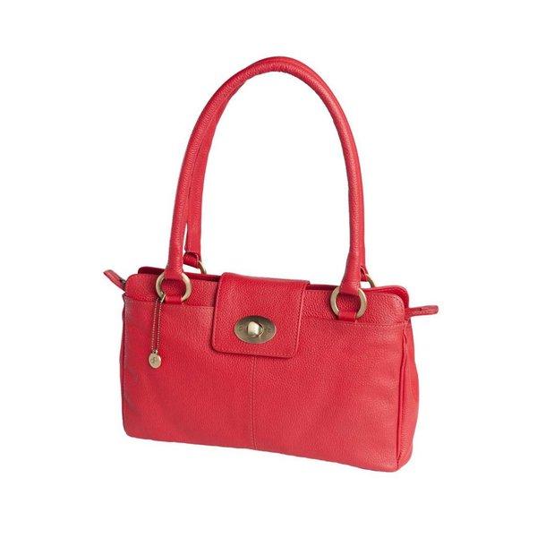 dR Amsterdam Handtasche Mint Tango Red