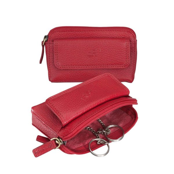 dR Amsterdam Sleutel-etui Mint Red