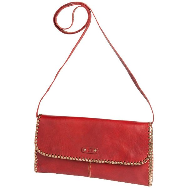 dR Amsterdam Clutch Waxi Red