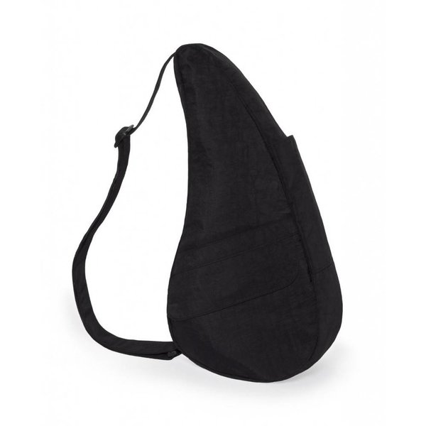 The Healthy Back Bag Textured Nylon met Ipad vak Black Medium
