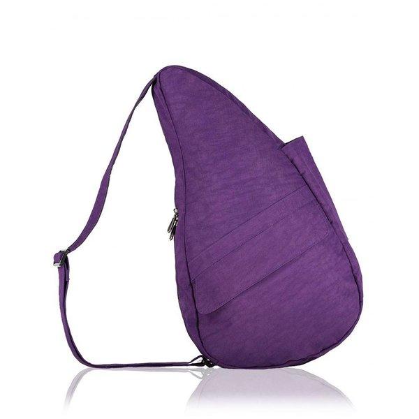 The Healthy Back Bag textured Nylon met Ipad vak Purple Medium