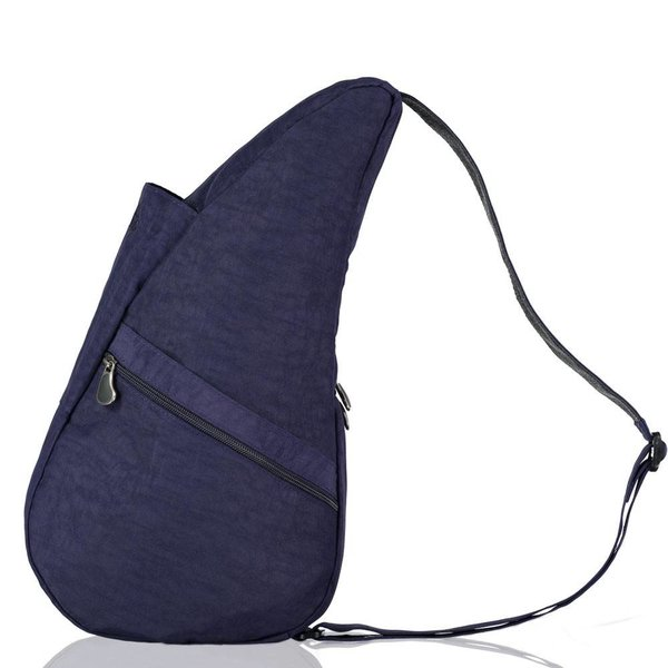 Die Healthy Back Bag Strukturierter Nylon Blue Night Kleine