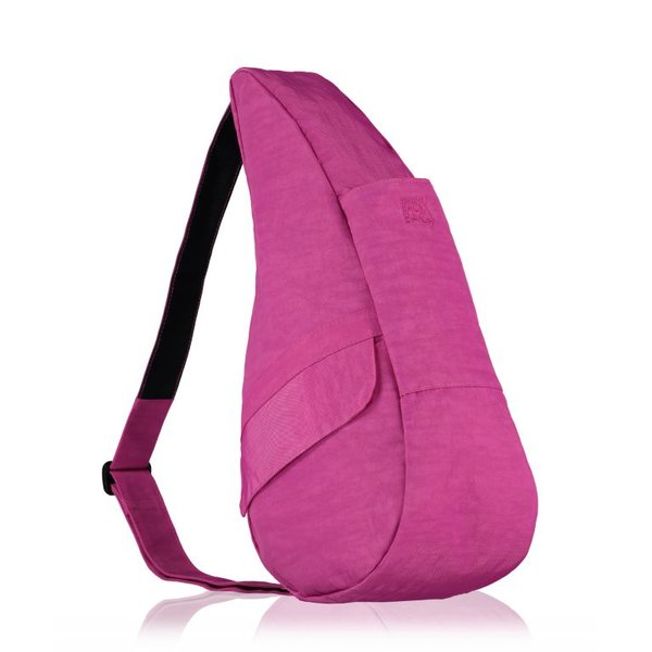 The Healthy Back Bag Textured Nylon Very Berry Small