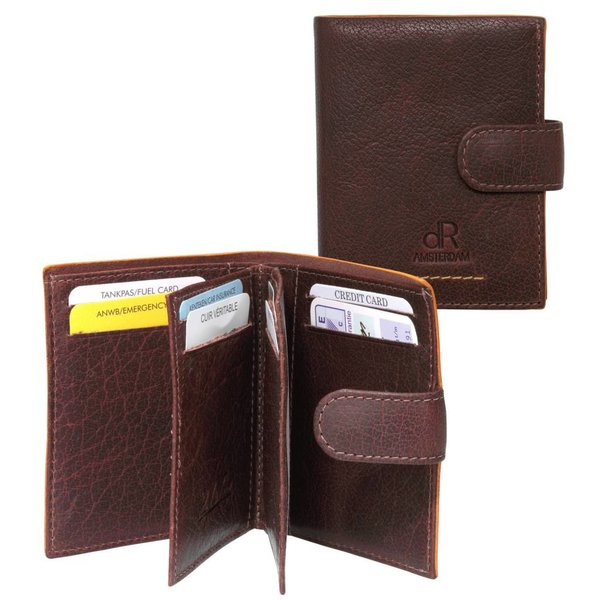 dR Amsterdam Creditcard-etui Icon Brown