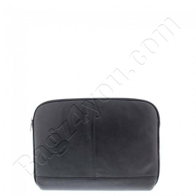 Plevier Business/laptop sleeve soft nappaleer 14 Black 4077