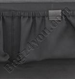 """Plevier Plover Gewerbe- / Laptop-Tasche Vintage-Leder 2 Fächer 15.6 """"Black 38"""