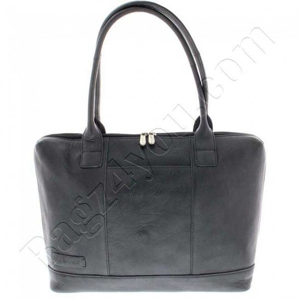 """Plover Business / laptop bag ladies cowhide 1-compartment 15.6 """"Black 475"""