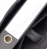 "Plevier Plevier Business/laptoptas dames volnerf rundleer 1-vaks 15.6"" Black 475"