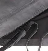 "Plevier Plover Gewerbe- / Laptop Messenger Kuhhaut 2 Fächer 15.6 ""Black 474"