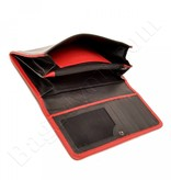 Berba Berba SOFT LADIES WALLET 001-403-15 schwarz rot