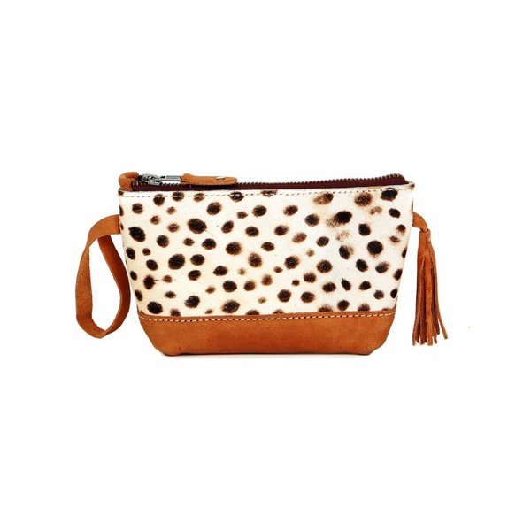 Chabo Taschen Make Up Bag Leopard Cognac