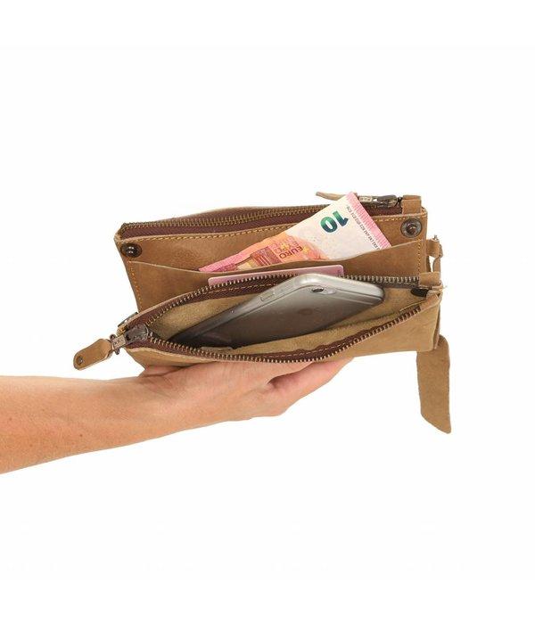 Chabo Bags Chabo Taschen Luca Beige Bag Wallet