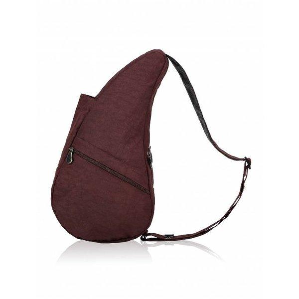 Healthy Back Bag Nylon Strukturierter Dunkle Schokolade Kleine