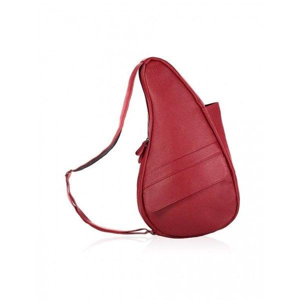 Die Healthy Back Bag Vollnarbenleder Tasche Chili Bean Kleine