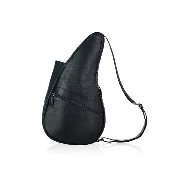 The Healthy Back Bag Leather Navy Small