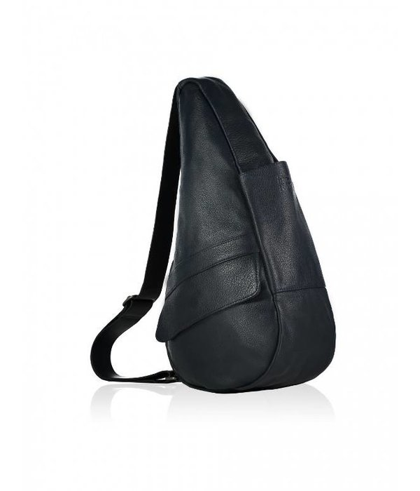 Healthy Back Bag Die Healthy Back Bag Vollnarbenleder Tasche Navy Small