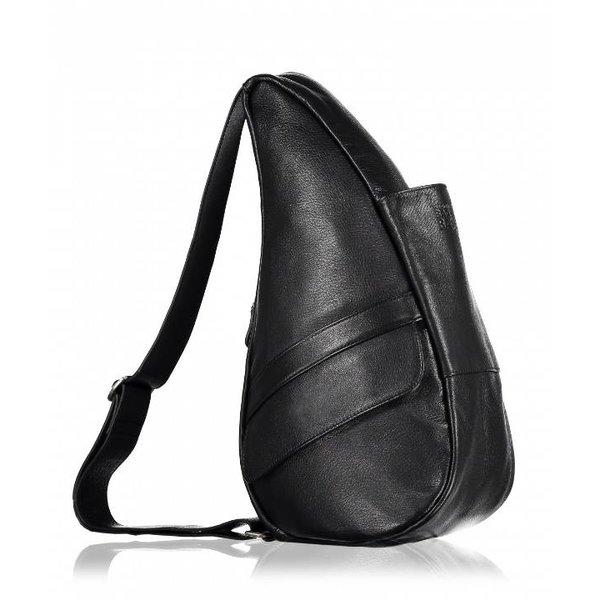 Die Healthy Back Bag Vollnarbenleder Tasche Schwarz Kleine