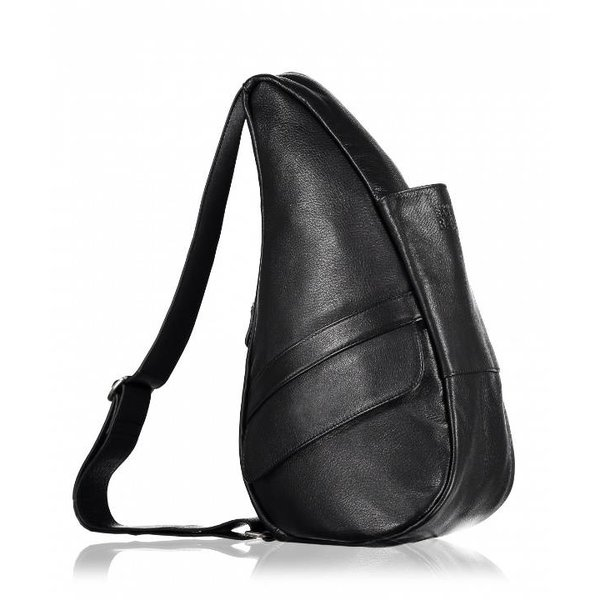 The Healthy Back Bag Volnerf leren tas Black Small