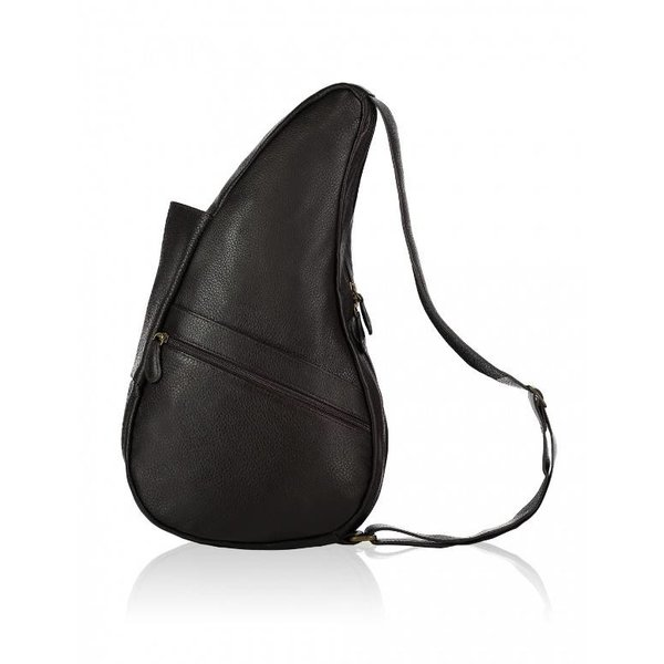 The Healthy Back Bag Volnerf leren tas Black Medium