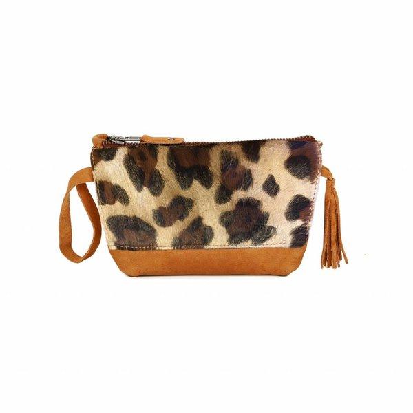 Chabo Bags Make Up Bag Panther Cognac