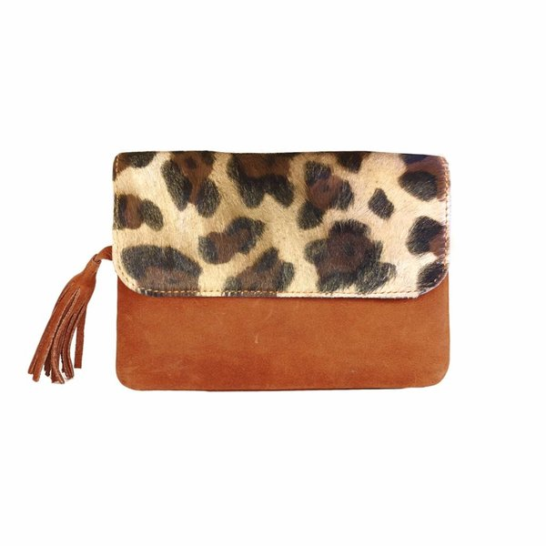 Bags Chabo Chabo Grande Petit Panther Cognac