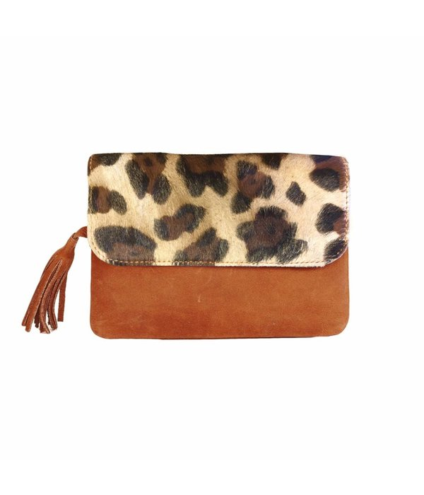 Chabo Bags Taschen Chabo Chabo Grande Petit Panther Cognac