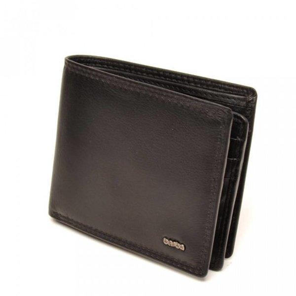 Berba Soft heren portemonnee 002-003-00 Zwart