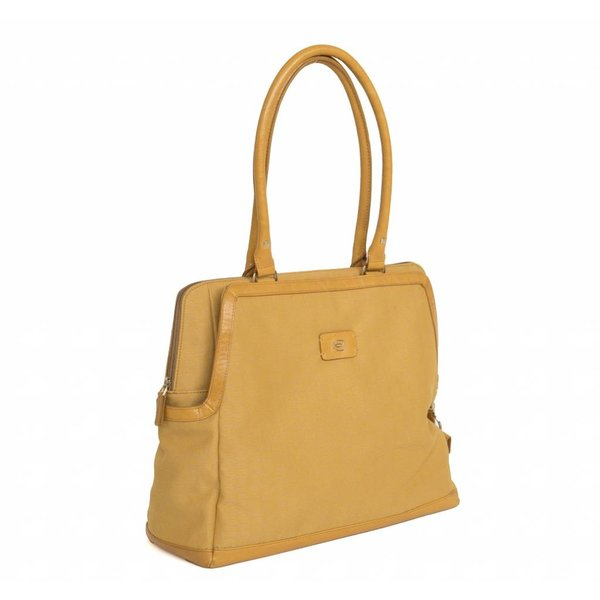 Business Bag - Piquadro - yellow