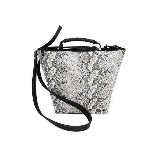 Maria La Verda Design Schultertasche / Handtasche Snakeprint