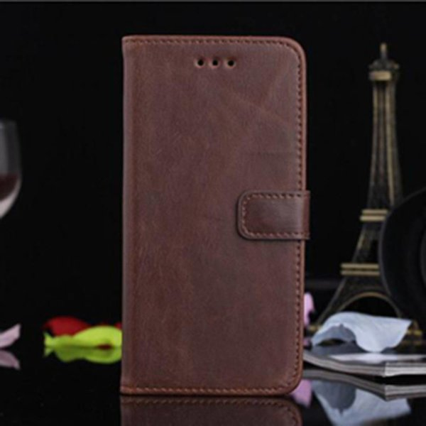 Luxury Wallet / Iphone Holder for Iphone 6 plus Brown