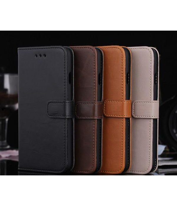 Bagz4you Luxuxmappen / Iphone-Halter für iPhone 6 und Brown