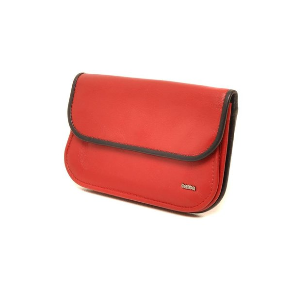 Berba Soft portemonnee 001-165 Rood / Zwart
