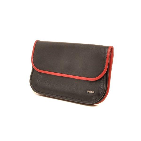 Berba Soft portemonnee 001-165 Zwart / Rood