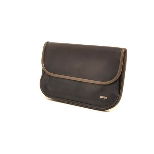 Berba Soft portemonnee 001-165 Zwart / Taupe