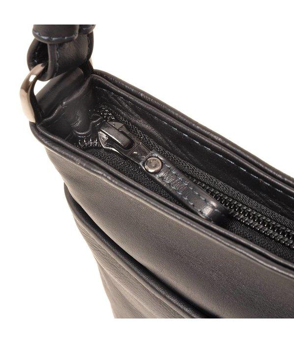 Berba Berba Soft-Crossover-Reißverschlusstasche 005-440 Navy
