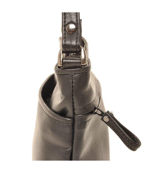 Berba Berba Soft-Crossover-Reißverschlusstasche 005-330 Schwarz