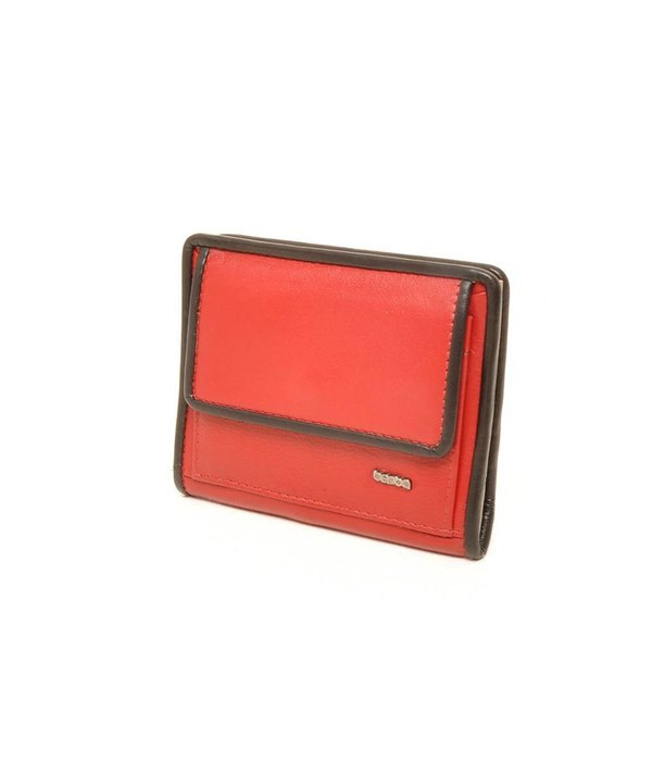 Berba Berba weiche Mappe 001-411 Rot / Schwarz