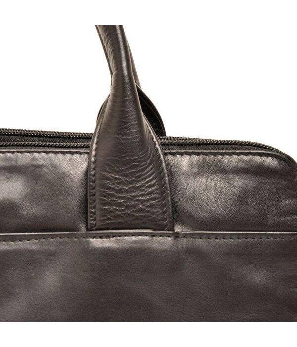 Berba Berba Soft Bag / Business Case im A4-Format 005-964 Schwarz / Taupe