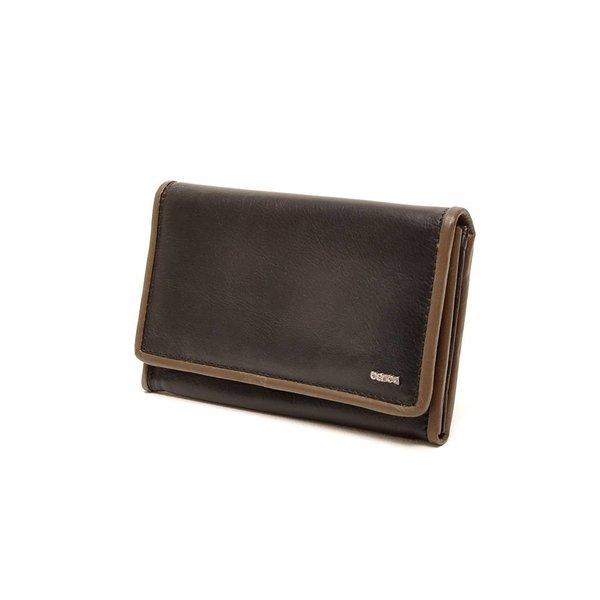Berba Soft Wallet 001-303 Black / Taupe