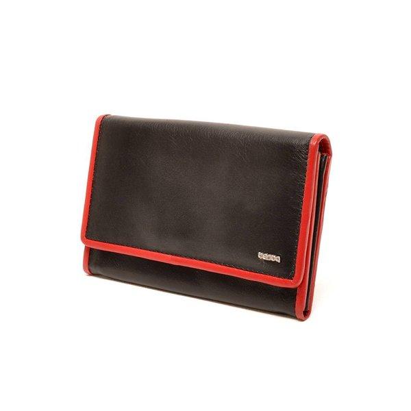 Berba Soft Wallet 001-303 Black / Red