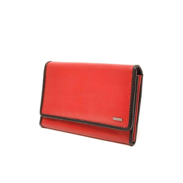 Berba Soft Wallet 001-303 Red / Black