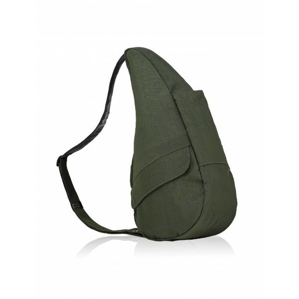 Die Healthy Back Bag Textured Nylon Deep Forest Small