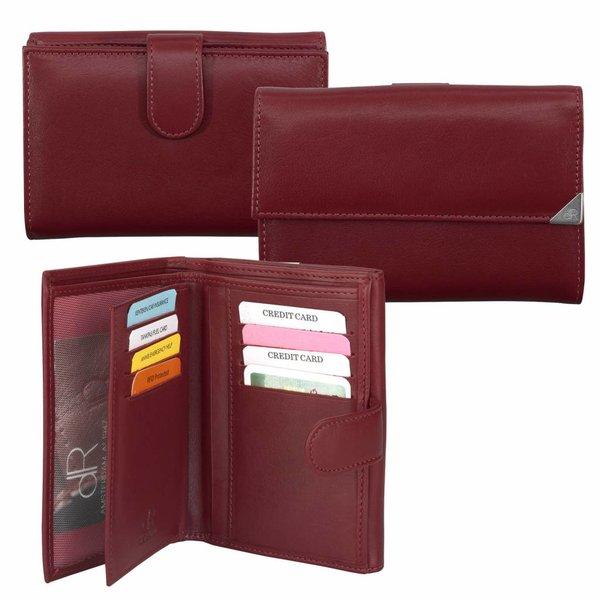 dR Amsterdam Damen Portemonnaie 15119 Rot