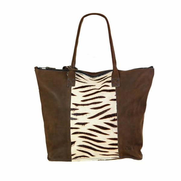 Chabo Shopper Tiger Taupe