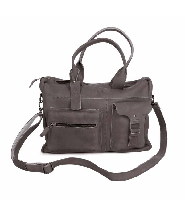 Chabo Bags Chabo Indian Shopper Elephant Grey