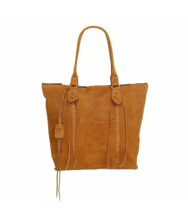 Chabo Bags Chabo Indian Shopper Black