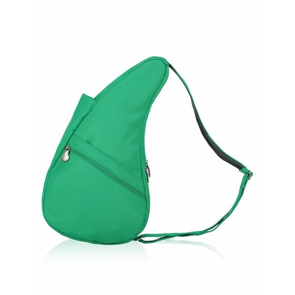 Die Healthy Back Bag Mikrofaser Small Green Flash