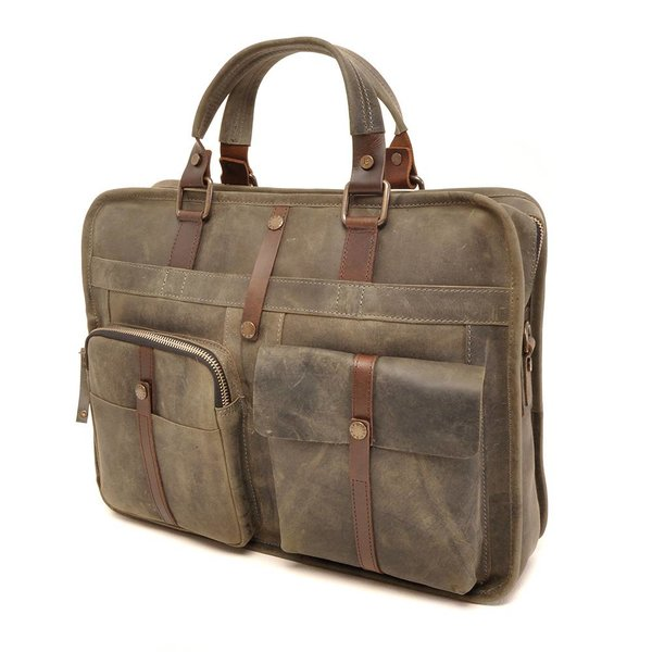 LEREN LAPTOP TAS BARBAROSSA 826-130-23 Military