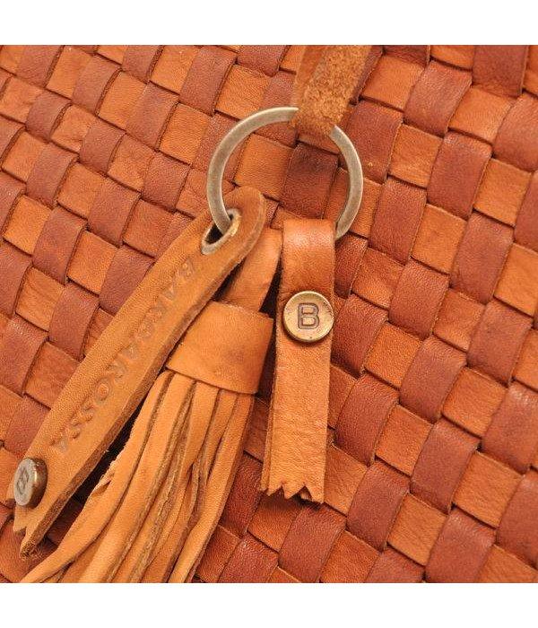Berba LEDER SHOPPER BARBAROSSA NASTRI 815-236-11 Cognac