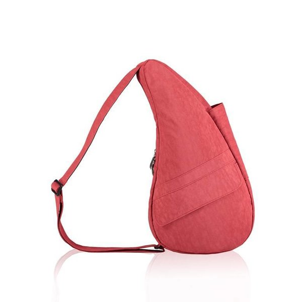 Healthy Back Bag Textured Nylon Small Tuscan Red